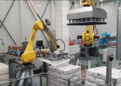 ROBOT SPACER HANDLING SOLUTION